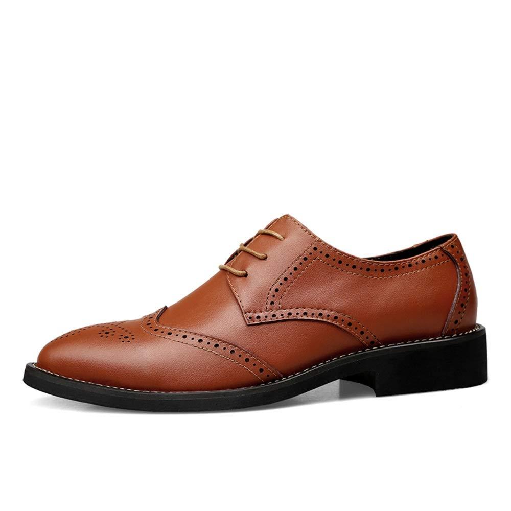 Xujw-schuhe, 2018 Schuhe Herren Herren Herren Casual Oxford-Herrenschuhe, Comfort Classic Carvings Breathable British Style Brogue Schuhe (Farbe   Braun, Größe   38 EU) e51b01