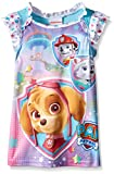 Paw Patrol Little Girls Skye and Her Star Rescue Pals Nightgown, Blue, 3T