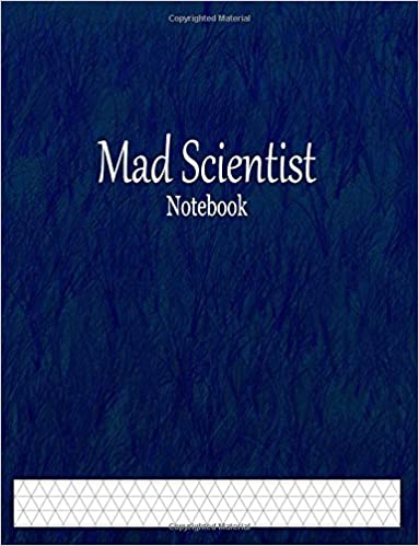 Mad Scientist Notebook 1 3 Isometric Graph Paper Ruled Little