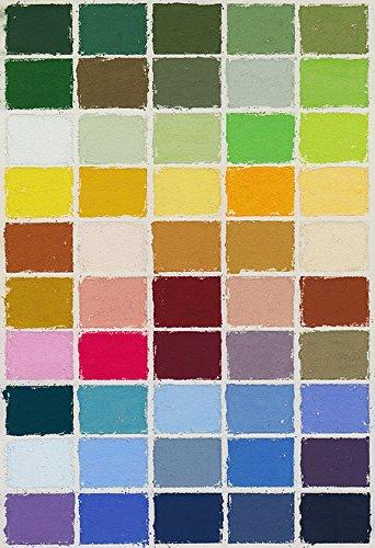Mount Vision Pastels - Landscape Set 50 Handmade Soft Pastels by Mount Vision