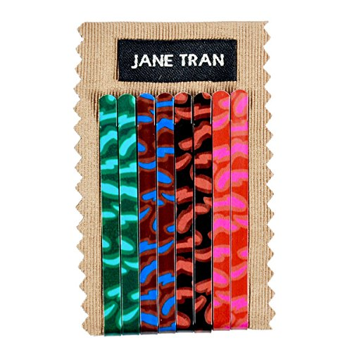 Jane Tran Babylon Print Bobby Pin Set -
