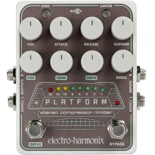 - Electro-Harmonix Platform Stereo Compressor/Limiter Pedal