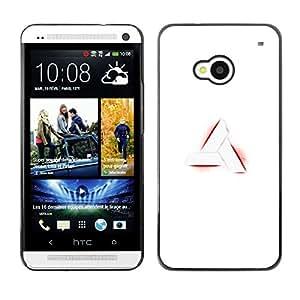 EJOY---Cubierta de la caja de protección la piel dura para el / HTC One M7 / --Nimus sesión