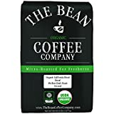 The Bean Coffee Company Organic Decaf California Blend, Medium Dark Roast, Ground, 5-Pound Bag