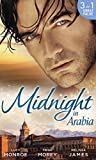 img - for Midnight in Arabia: Heart of a Desert Warrior / The Sheikh's Last Gamble / The Sheikh's Jewel by Lucy Monroe (2015-02-06) book / textbook / text book