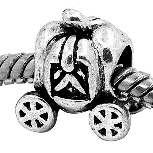 - Charm Buddy Fairytale Cinderella Pumpkin Carriage Princess Charm Fit Pandora Style Bracelets