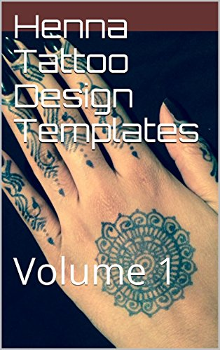 henna tattoo design templates volume 1 kindle edition by m s