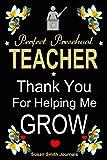 Perfect preschool teacher appreciation notebook gifts: Writing journal for teachers, thank you/retirement/year end appreciation gift notebook (Gift Journals and notebooks for teachers)