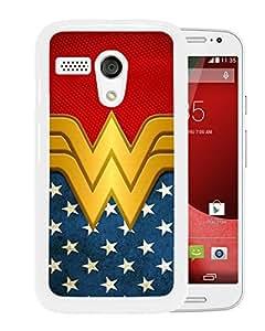 Wonder Women White Motorola Moto G Screen Phone Case Attractive and Fashion Design