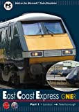 Gner East Coast Express Part 1: London to Peterborough - Add-On for MS Train Simulator (PC CD)