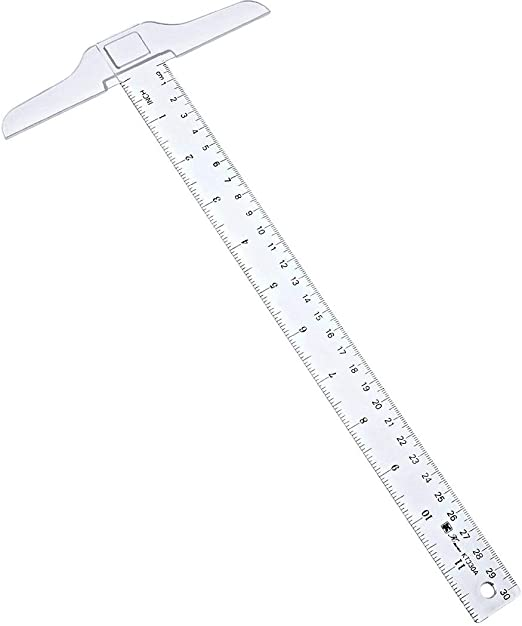 "T-Square Ruler 12/"" 30cm"