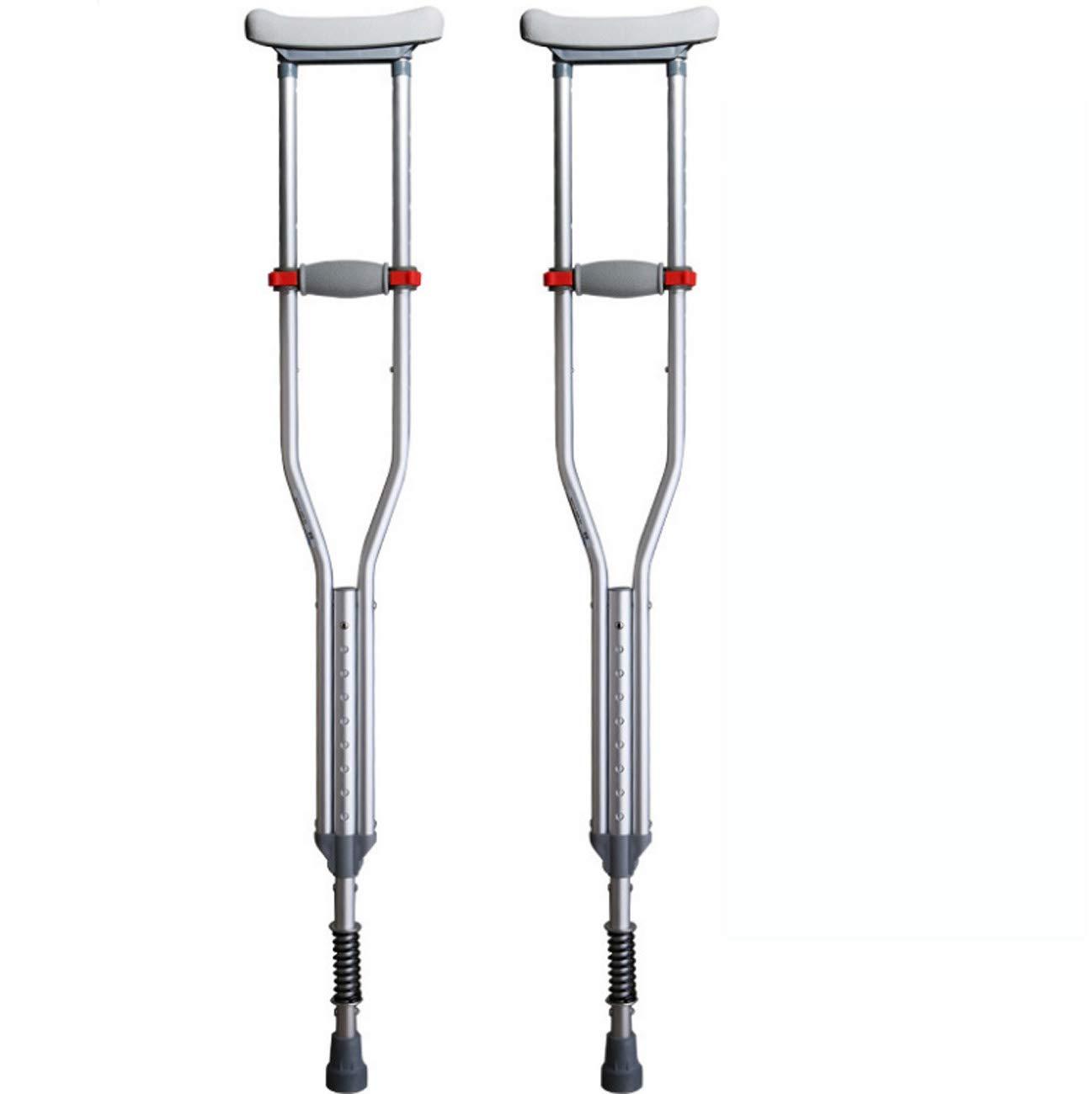 【お気に入り】 春のダンピング装置を備えた脇の下の松葉杖 Two、障害者用のリハビリ用歩行用スティック B07G8CRTGZ B07G8CRTGZ Two Two, ROYAL MOON:742bdf90 --- a0267596.xsph.ru