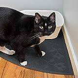 Corner Cat Litter Mat (Slate Gray) - XL - Best Reviews Guide