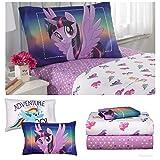 My Little Pony Movie Girls Twin Bedding Sheet Set