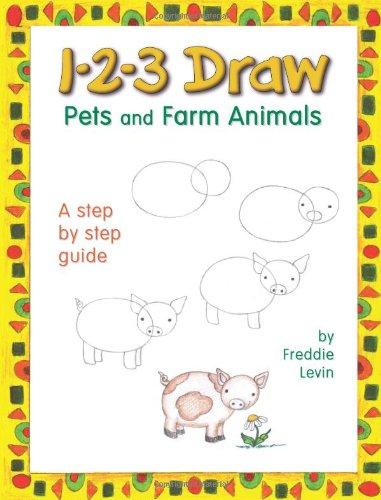 1-2-3 Draw Pets and Farm Animals