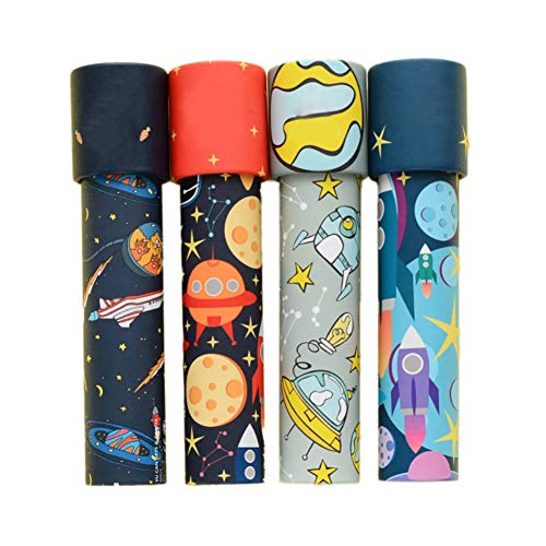 Facaily Vintage Cartoon Kaleidoscope Classic Magic Toy Kids Children Birthday Gift for Baby Educational Toys