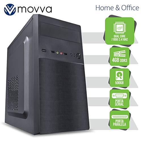 COMPUTADOR LITE INTEL DUAL CORE J1800 2.41GHZ MEM. 4GB HD 500GB 1X PORTA PARALELA 1X PORTA SERIAL FONTE 200W LINUX - MOVVA