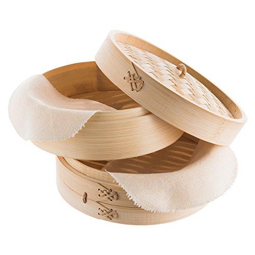 Amazon De Reishunger Bambusdampfer Ersatzbaumwolltuch 5er Pack 20