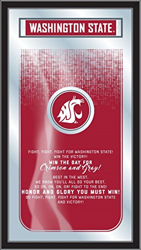 Holland Bar Stool Co. Washington State Cougars Fight Song Mirror (26