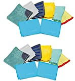 e-cloth Home Cleaning Set, 8 Piece - 2 Pack (Total 16 Piece)