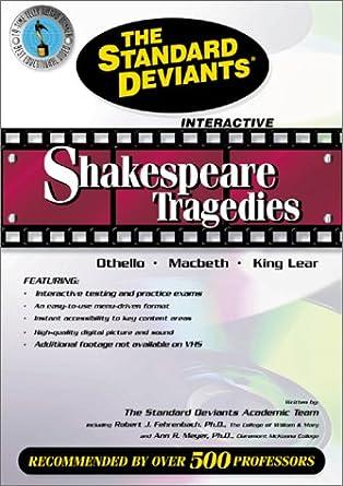 Amazon.com: The Standard Deviants - Shakespeare Tragedies ...