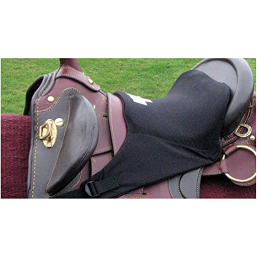Pro Pad Sheepskin Gel Seat - Cashel Foam Tush Cushion Seat for Australian Saddle