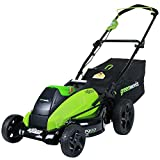 GreenWorks 2501302 G-MAX 40V 19-Inch Cordless Lawn Mower, Battery & Charger Not Included