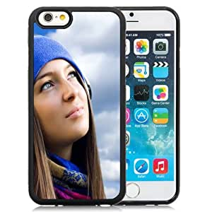Beautiful Custom Designed Cover Case For iPhone 6 4.7 Inch TPU With Music Girl In The Sun Phone Case