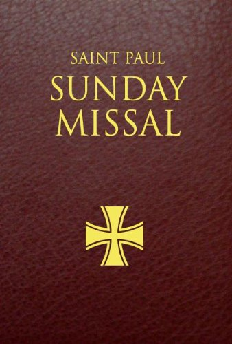 Saint Paul Sunday Missal: Burgundy Leatherflex