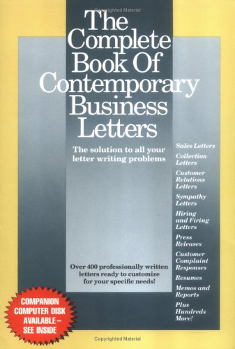The Complete Book of Contemporary Business Letters ()