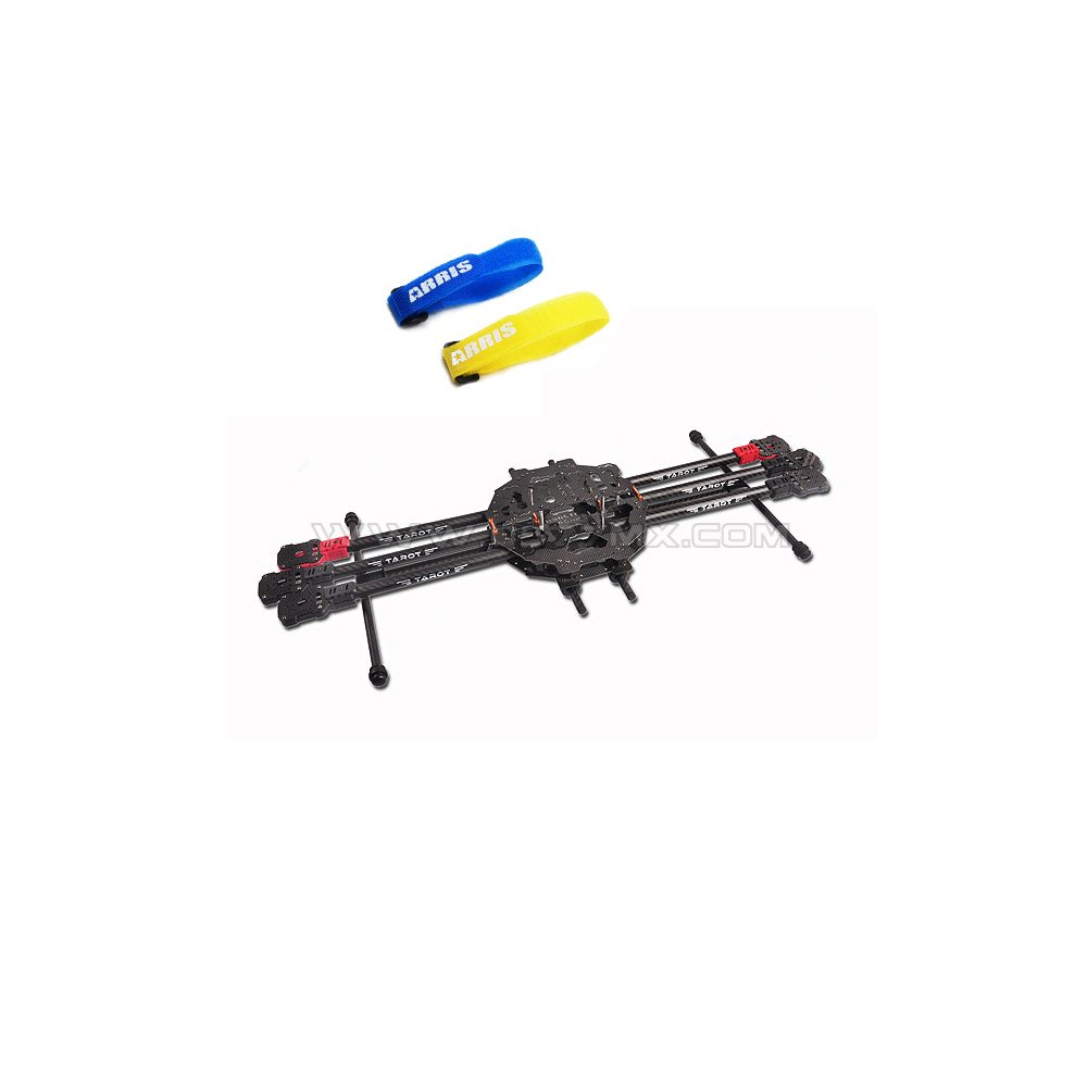 Amazon.com: Tarot FY690S Foldable Hexa-copter Carbon Fiber Frame ...