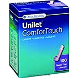 Unilet ComforTouch Lancet [UNILET LANCET 30G] (BX-100)