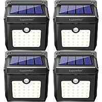 4 Pack Luposwiten Solar Motion Sensor Lights
