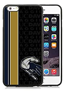 iPhone 6 Plus 5.5 Inch TPU Case ,Unique And Fashionable Designed Case With NCAA Big Sky Conference Football UC Davis Aggies 1 Black For iPhone 6 Plus Cover Phone Case