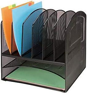 Lorell LLR37523 Horizontal Vertical Mesh Desk Organizer