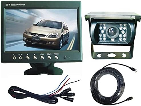 Top Dawg MS-901D Heavy Duty Bracket Backup Camera with 7 LCD