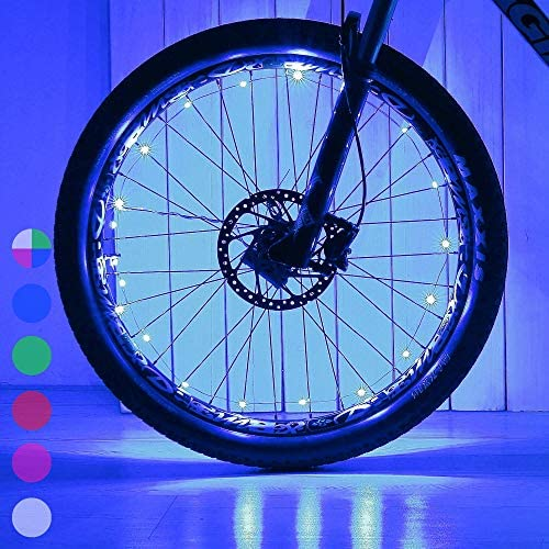 Bicycle Spoke Signal Light Wheel Lights For Bike Tire 32 Pattern LED Safety Hot