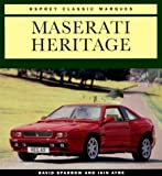 img - for Maserati Heritage (Osprey Classic Marques) book / textbook / text book