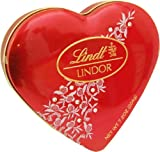 Lindt Lindor Valentine Truffles Heart Tin 7.2oz.