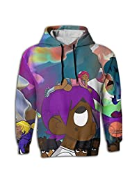 HRETYHRHFF Funny Cotton Personalized LIL Uzi Vert Vs(3) Hooded