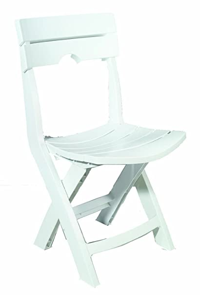 Adams Manufacturing 8575-48-3700 Quik-Fold Chair, White - Amazon.com : Adams Manufacturing 8575-48-3700 Quik-Fold Chair, White