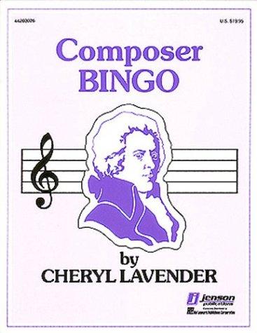 Composer Bingo (Hal Leonard Composer Bingo Game)