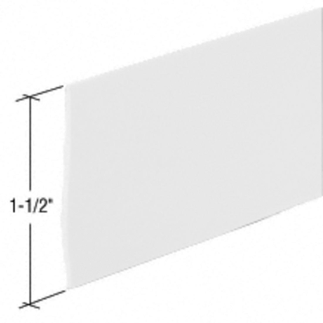 36 in long CRL Clear Shower Door Flat Vinyl Sweep