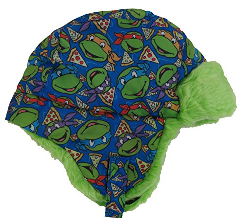 Teenage Mutant Ninja TMNT Pizza Boys Knit Mohawk Scandinavian Hat - Toddler -