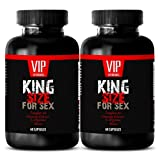 Men enhancement sexual pills size - KING SIZE FOR SEX - Ginseng maca l arganine - 2 Bottles 120 Capsules