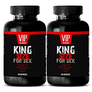 Maca root extract - KING SIZE FOR SEX - Sex boost men (2 Bottles 120 Capsules)