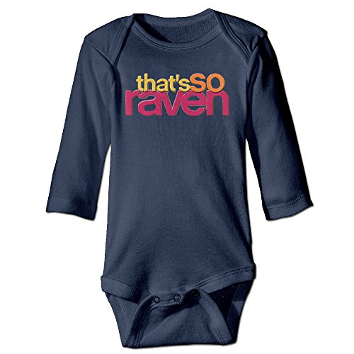 That's So Raven Supernatural Teen Sitcom Kids Baby Long-sleeve Jumpsuit Navy (That 70s Show Outfits)