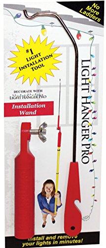 Light Hanger Pro Installation Wand LH-18800 Christmas Light Pole Hanger
