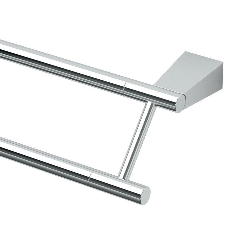 Gatco 4714 Bleu 24'' Double Towel Bar, Chrome by Gatco (Image #1)
