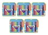 Flair Felt Tip Pens, Medium Point (0.7mm), Assorted Colors, 12 Count